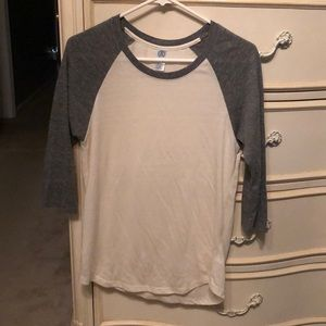 Tops - Basic baseball tee